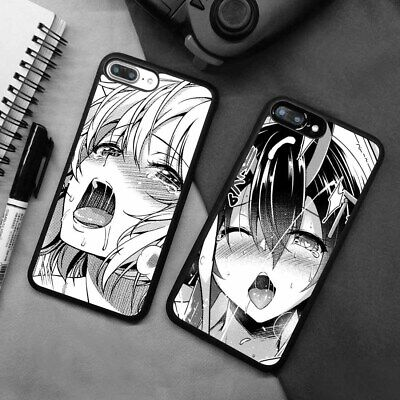 AU6.42 • Buy Ahegao Hentai Girl Anime Manga Silicone Case Cover For IPhone Samsung Galaxy