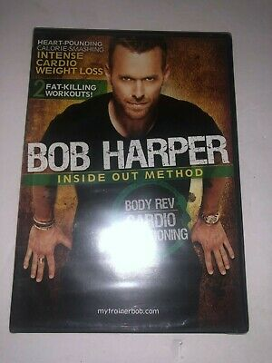 Bob Harper: Inside Out Method- Body Rev Cardio Conditioning (DVD, 2010) EXERCISE • 9.98£