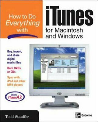 AU22.37 • Buy How To Do Everything With Itunes For Macintosh And Windows 0072231963 The Cheap