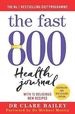 $22.35 • Buy The Fast 800 Health Journal By Dr Clare Bailey (English) Paperback Book Free Shi