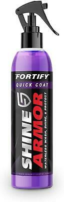 $28.99 • Buy Shine Armor Fortify Quick Coat Ceramic Coating Car Wax Spray For Auto Cars