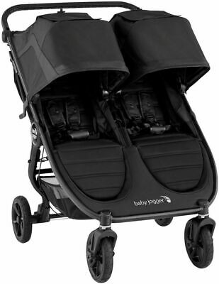 £429.52 • Buy Baby Jogger City Mini GT2 Twin Baby Double Stroller Jet NEW 2020