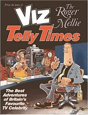 The Roger Mellie Telly Times By Viz Book The Cheap Fast Free Post • 4.99£