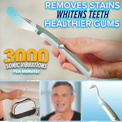 $10.99 • Buy Electric Ultrasonic Tooth Stain Eraser Cleaner Dental Scaler Teeth Whitening  US