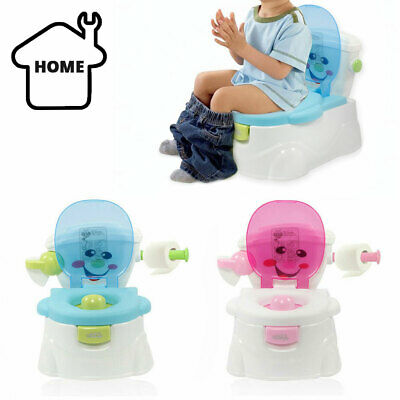 £16.89 • Buy 2 In 1 Kids Baby Toilet Seat Toddler Training Potty Trainer Safety Chair Urinal