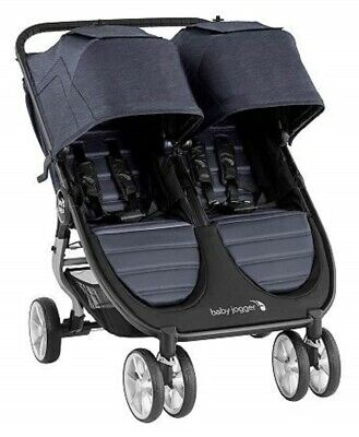 Baby Jogger City Mini 2 Twin Baby Double Stroller Carbon NEW 2020 • 338.63£