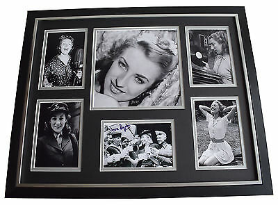 £119.99 • Buy Dame Vera Lynn SIGNED Framed Photo Autograph Huge Display WW2 Forces Music COA