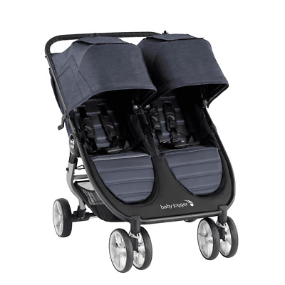 Baby Jogger 2020 City Mini 2 Double Stroller - Carbon - New! Free Shipping! • 376.26£