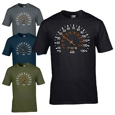 Speedometer 1981 40th Birthday T-Shirt - Funny Feels Age Year Present Mens Gift • 11.85£