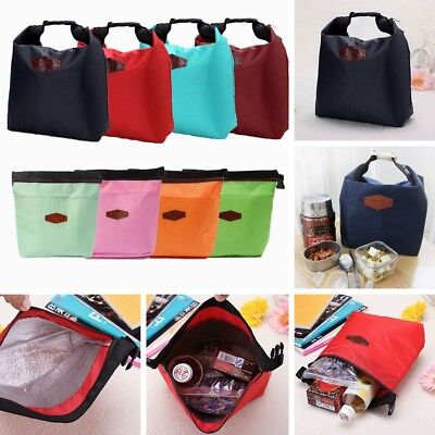 Picnic Thermal Small Portable Cooler Insulated Lunch Storage Bag Carry Tote Case • 3.99£