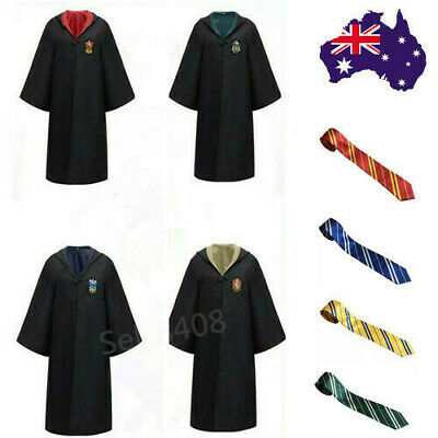 AU22.99 • Buy AU Harry Potter Hogwarts Gryffindor Ravenclaw Robe Cloak Party Cosplay Costume