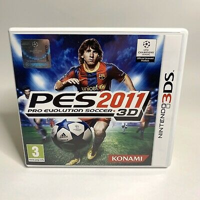 AU37.99 • Buy Pro Evolution Soccer 2011 (PES) 3DS 2DS - Complete W/ Manual - Tested & Working