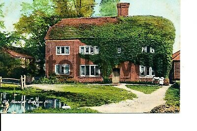 Old House At Burgess Hill. Vintage Postcard C05 • 10£