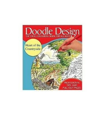 Heart Of The Countryside (Doodle Design S.) By Unknown Paperback Book The Cheap • 5.99£
