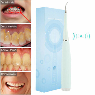 $14.99 • Buy Electric Tooth Cleaner Ultrasonic Oral Irrigator Teeth Stain Dental Cleaning Kit