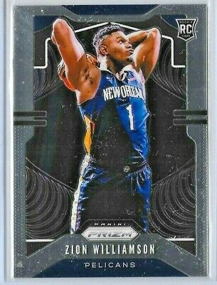 $52 • Buy Zion Williamson 2019-20 Prizm Rookie Card #248 New Orleans Pelicans  Nk82e