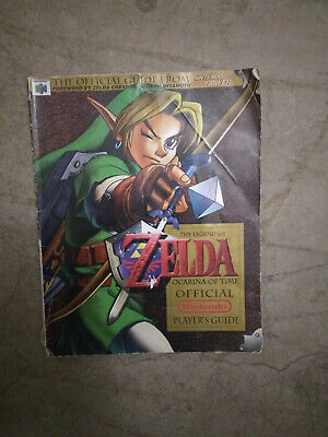 $29 • Buy The Legend Of Zelda Ocarina Of Time N64 Nintendo Player's Strategy Guide LGLP