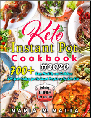 $1.91 • Buy 700+ Keto Instant Pot Cookbook #2020 – Easy, Healthy An- PDF/Eb00k Fast Delivery