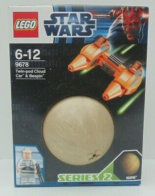 STAR WARS LEGO Planets 9678 Twin-Pod Cloud Car And Bespin RARE Retired Set • 14.99£