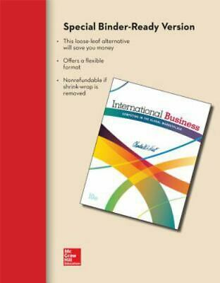 £257.10 • Buy International Business By Charles Hill Binder Ready Version