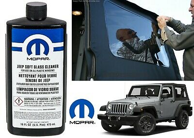 AU23.92 • Buy OEM Mopar 5012248AD Soft Top Glass Window Cleaner For Jeep Wrangler YJ TJ JK JL