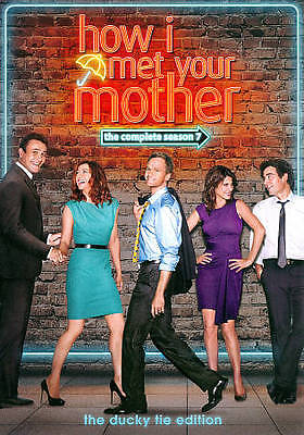 $9.99 • Buy How I Met Your Mother: The Complete Season 7 DVD, 2012, 3-Disc Set SEALED