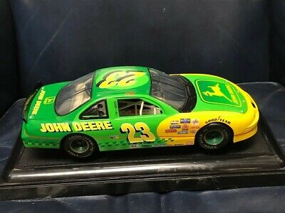 $20 • Buy John Deere Nascar, Chad Little #23 Car In Case 6  X 6  X 13 , With Plastic Cover