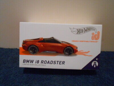 $6.99 • Buy HOT WHEELS 2020 TARGET EXCLUSIVE (boxed) ID, BMW I8 ROADSTER (Unique ID Car)