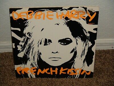 $4.99 • Buy Debbie Harry French Kissin Promo Single 1986 Andy Warhol Cover !
