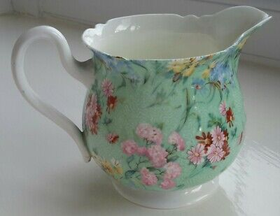 Shelley  Melody Bone China  Milk Jug 3.5 Inches High • 14.99£