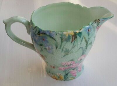 Shelley  Melody Bone China Milk Jug 2.5 Inches High • 19.99£