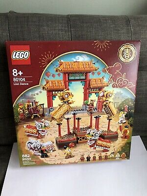 $124.99 • Buy LEGO 80104 Chinese New Year Lion Dance 882pcs New In Hand Free Shipping