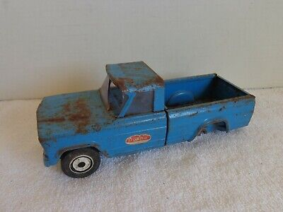 $4.95 • Buy Vintage 1960's Tonka Jeep Gladiator Pickup Truck Blue For Parts
