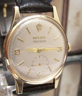 $ CDN4748.31 • Buy Vintage 1966 Rolex Solid Gold Precision Watch Minty Dial & Box & Paper Serviced