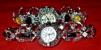 $ CDN7.82 • Buy Vintage Costume Jewelry Watches And Watch Parts 8 Pieces - Old New Stock