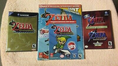 $124.95 • Buy The Legend Of Zelda The Wind Waker Gamecube W/NEW Strategy Guide & Bonus Disc!