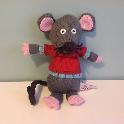 Latitude Enfant Marie The Mouse Knitted Soft Toy Plush 10 Inches Tall • 3.50£