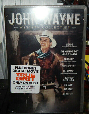 $18.95 • Buy John Wayne Western Collection DVD