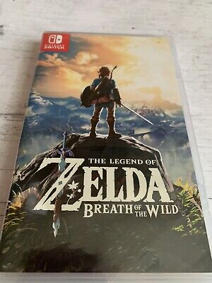 $38 • Buy Legend Of Zelda Breath Of The Wild - Nintendo Switch Game - New - Factory Sealed