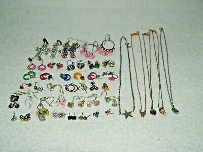 $ CDN14.13 • Buy Lot Of Kids Child Young Girl Teen Jewelry Lot Necklace Earrings #K2