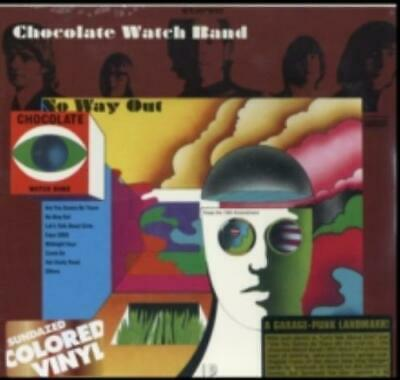 CHOCOLATE WATCH BAND: NO WAY OUT (LP Vinyl *BRAND NEW*.) • 26.49£