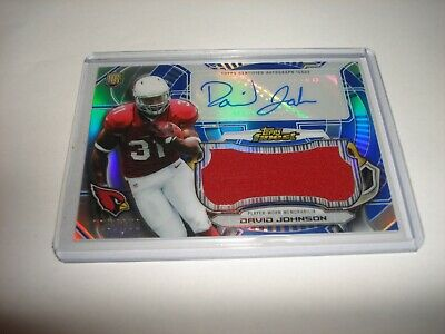 $2.99 • Buy 2015 Topps Finest David Johnson Auto Jersey Relic Rookie #23/150