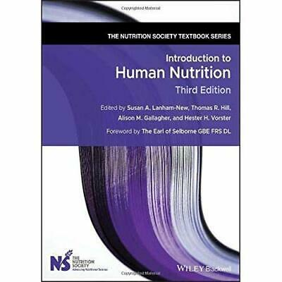 £46.85 • Buy Introduction To Human Nutrition (The Nutrition Society  - Paperback / Softback N