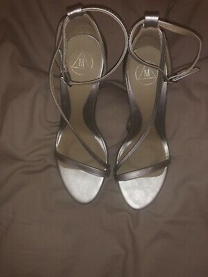 Missguided Party Dress Sandals Shoes Size 6  Ankle Strap • 5£