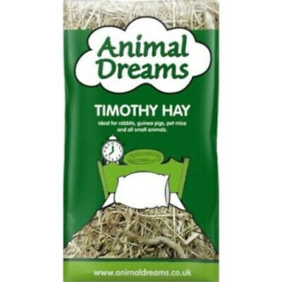 £8.91 • Buy Natural Timothy Hay 1kg Dried Grass Small Animal Bedding Feed Rabbit High Fibre
