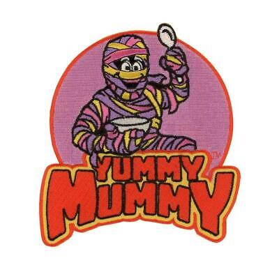 Yummy Mummy Patch Iron On Breakfast Cereal Fruity Monster Horror Goth Gift • 12.56£
