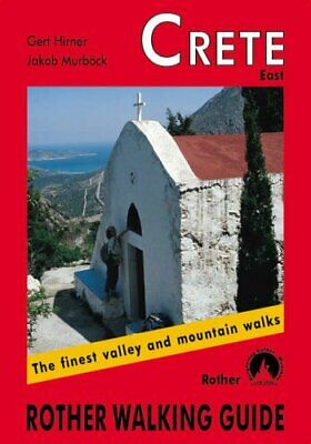 Crete East: Rother Walking Guide By Gert Hirner / Jakob Murb�ck Paperback Book • 5.54£