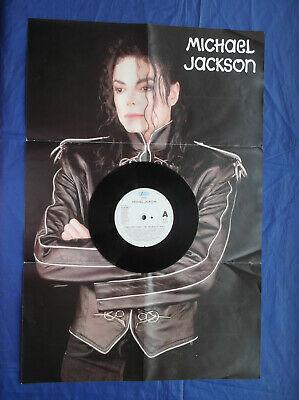 MICHAEL JACKSON - HEAL THE WORLD - 7 , Special Edition, Poster Bag Epic 658488 7 • 8£