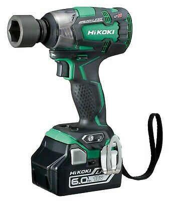 Hikoki Wr18dbdl2 18v Brushless 1/2'' Impact Wrench 2 X 6.0ah Brand New Hitachi • 299.95£