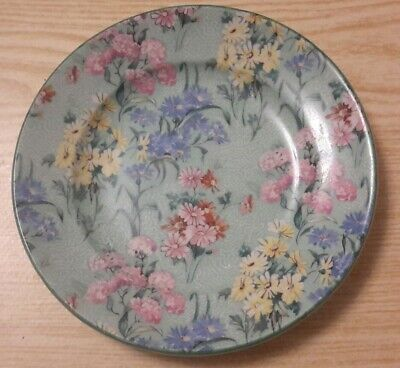 Shelley  Melody Bone China Small Saucer Side Plate Green Rim England • 9.99£
